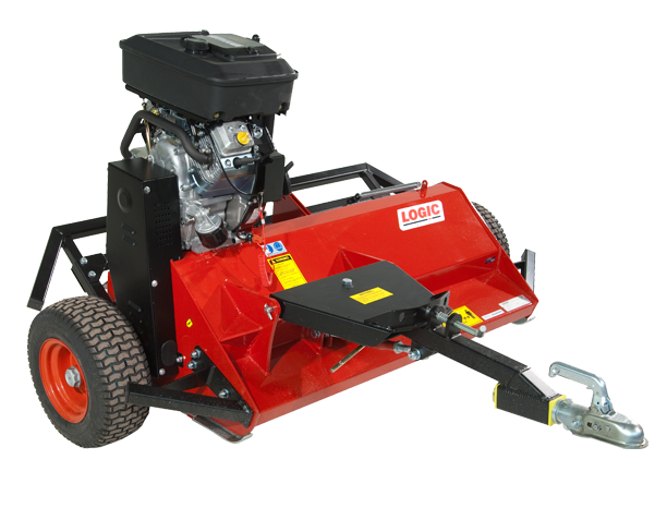 Logic MFP Flail Mower 1.2m with quick offset drawbar (wheels alongside)