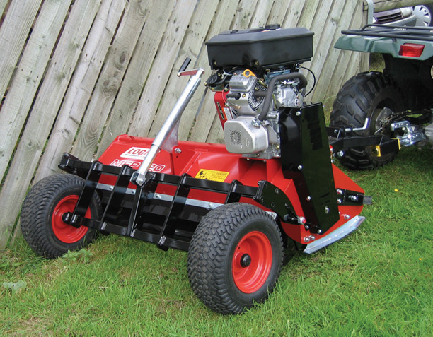 Logic MFP Flail Mower 1.2m with quick offset drawbar (wheels behind)