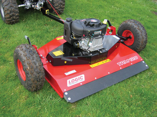 Logic TRM120 Rotary Mower/Topper - New quality Logic Equipment