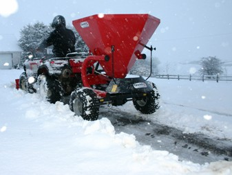 Quad-X Salt Spreader  - 6 Bag 300Kg - Agricultural / Winter Product